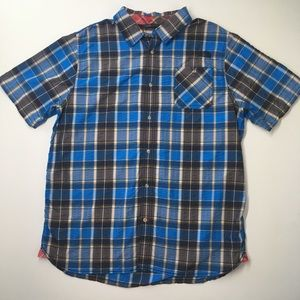The North Face Plaid Button Front Shirt
